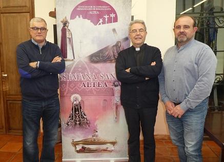 Fiestas presentará este sábado el vídeo promocional de la Semana Santa de Altea