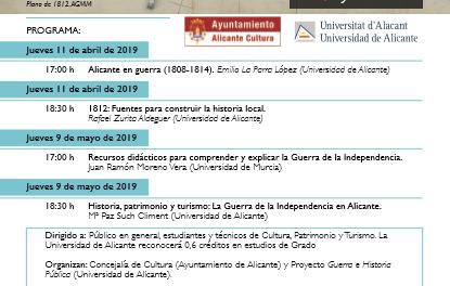 1812. Descubre la Guerra de la Independencia en Alicante