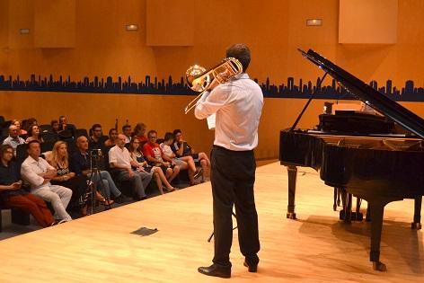 Benidorm promociona la XXXI edición del Curso Internacional de Música