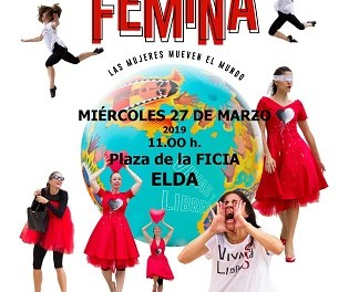 Maracaibo Teatre realitza un cant al paper de la dona a Elda amb l'obra 'Fémina, las mujeres mueven el mundo'