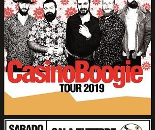 Casino Boogie actuará en Sant Joan d'Alacant, en uno de sus primeros conciertos de la gira 2019