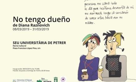 La Concejalía de Cultura de Petrer organiza dos actos para celebrar el Día de la Mujer