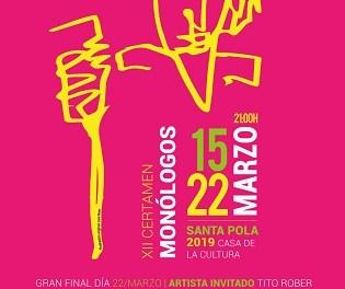 El 15 de marzo Santa Pola se llena de humor, música y entretenimiento: vuelve el Certamen Nacional de Monólogos