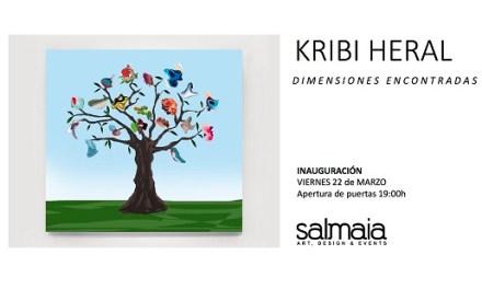 L'artista Kribi Heral torna a Espai Salmaia d'Altea
