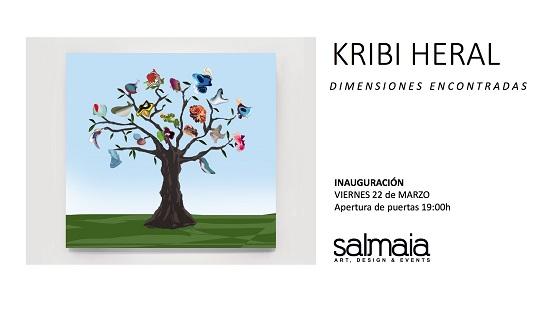 El artista Kribi Heral vuelve a Espai Salmaia de Altea