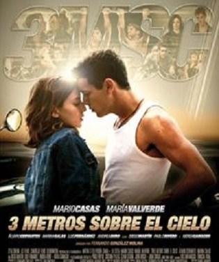 """Cinefórum del """"Mes de la Mujer Joven"""" de Torrevieja: """"Tres metros sobre el cielo"""""""