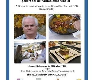 La Seu Universitària de Torevella organitza un taller i una conferència sobre el Turisme Gastronòmic