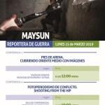 La reportera de guerra y fotoperiodista Maysun ofrece dos conferencias en la Universidad de Alicante el próximo lunes