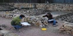 Alumnado en las prácticas del Máster Universitario en Arqueología Profesional y Gestión Integral del Patrimonio