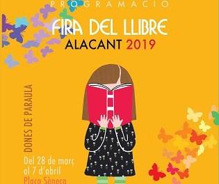 La Feria del Libro de Alicante se inaugurará el jueves 28 de marzo con un espectáculo de la compañía Carros de Foc