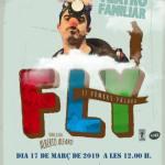 Cultura de Callosa d'en Sarrià trae a escena el próximo 17 de marzo la obra familiar 'Fly, el hombre pájaro'