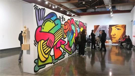 Última visita guiada a #365ALC_ART_URBÀ del cicle 'Tot el que veus és art. Todo lo que ves es arte. All you see is art'