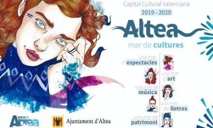 Altea se estrena como capital cultural de la Comunitat Valenciana 2019-2020