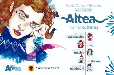 Altea s'estrena com a capital cultural de la Comunitat Valenciana 2019-2020