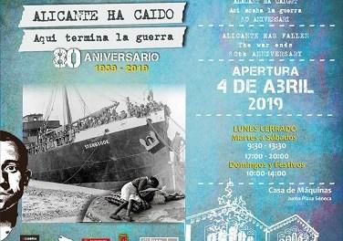 """Inauguració de l'exposició """"Alacant ha caigut. Ací acaba la guerra"""" sobre la Guerra Civil"""