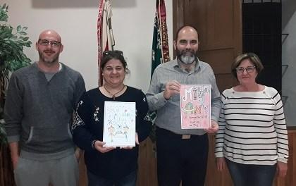 La Junta Festera concedeix els premis de XXXº Concurs de Dibuix Infantil del Mig Any de Festes entre més de 350 participants