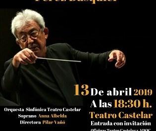 El músico eldense Gerardo Pérez Busquier recibirá un homenaje en el Teatro Castelar