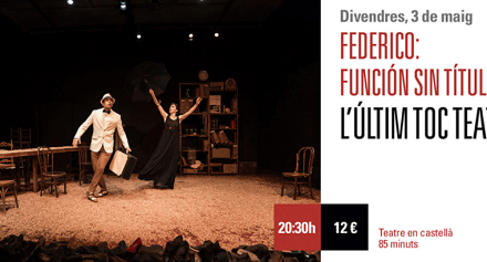 García Lorca vuelve este viernes al Teatre Arniches de Alicante