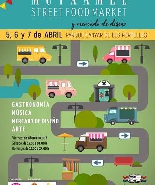Muxtamel ofereix la seua tradicional fira gastronòmica de food trucks al costat del mercat de disseny i l'actuació de l'humorista Corbacho