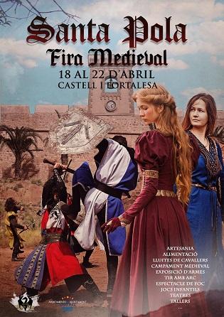 El Castell-fortalesa de Santa Pola acull la Fira Medieval del 18 al 22 d'abril