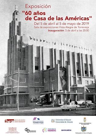 La sala de exposiciones Vista Alegre de Torrevieja inauguró «60 años de Casa de las Américas» el pasado 5 de abril