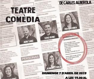 La Casa de la Música de Callosa d'en Sarrià acoge este domingo la obra de teatro 'Estimada Anuchka'