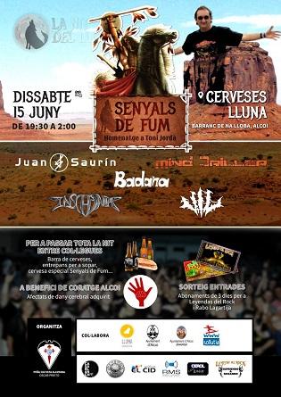 Una nueva edición del concierto  'Senyals de Fum' de sonidos metal en Alcoy