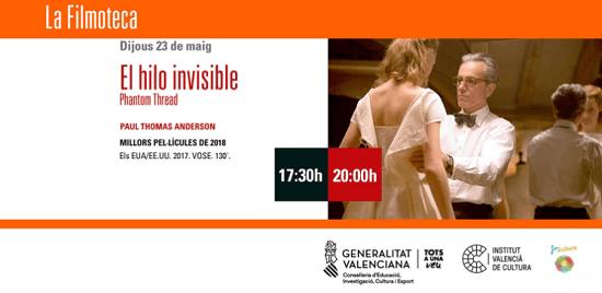 """La pel·lícula """"EL HILO INVISIBLE"""" en el Teatre Arniches aquest dijous"""