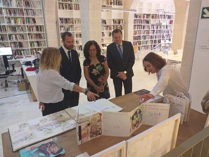 """L'Ajuntament d'Alacant i l'Obra Social """"la Caixa"""" signen un conveni per al desenvolupament d'activitats de caràcter social en el Museu d'Art Contemporani d'Alacant"""