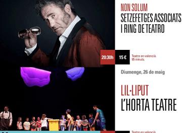 Descubrir qué pasa y la banda sonora de Liliput en el Teatro Arniches este fin de semana