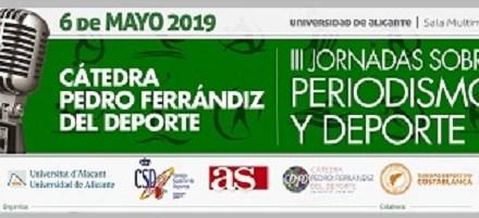 Vicente del Bosque participarà el 6 de maig en les III Jornades sobre Periodisme i Esport de la UA
