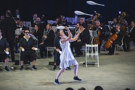 """Música y circo en el Teatro Chapí con """"Orquesta de Malabares"""" y la Banda Municipal de Villena"""