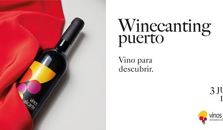 Vinos Alicante DOP celebran Winecanting Puerto el 3 de junio