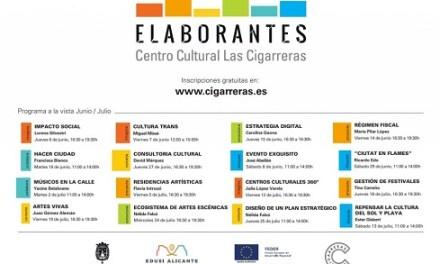 ELABORANTES nuevo programa de formación para los agentes del sector cultural