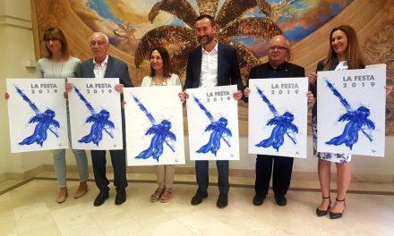 L'àngel de laMagranaprotagonitza el cartell de les representacions delMisterid'Elx 2019