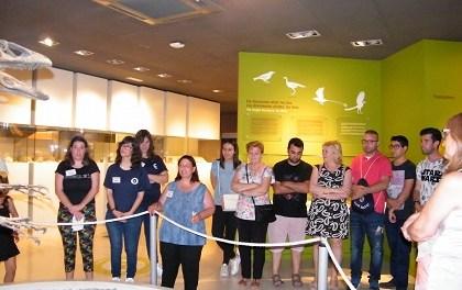 El Museu Paleontològic d'Elx, un museu obert que recolza a les persones amb diversitat funcional