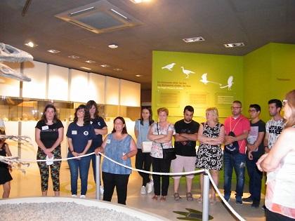 El Museo Paleontológico de Elche, un museo abierto que respalda a las personas con diversidad funcional