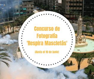 L'Ajuntament llança el concurs fotogràfic de Fogueres amb passades VIP per a lesMascletás