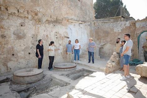 L'Ajuntament de l'Alfàs i la Universitat d'Alacant col·laboren en la reconstrucció virtual del Molí de Mànec