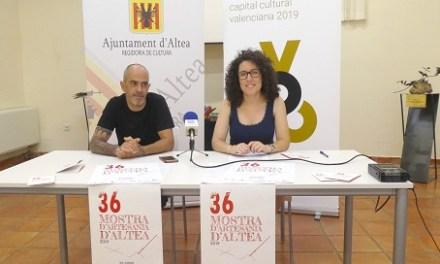 La 36 edición de la Mostra d'Artesania de Altea se celebrará del 29 de junio al 1 de septiembre