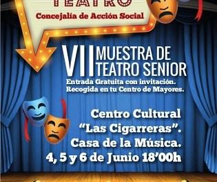 """La Concejalía de Acción Social de Alicante organiza la VII Muestra de Teatro Senior en """"Las Cigarreras"""" del 4 al 6 de junio"""