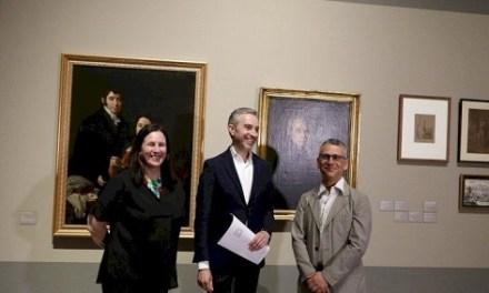 Vicente Rodes, retratista alicantino inédito para el gran público