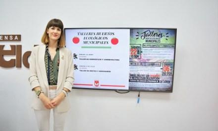 Els horts ecològics municipals d'Elda obrin les seues portes a la ciutadania els pròxims 22 de juny i 6 de juliol