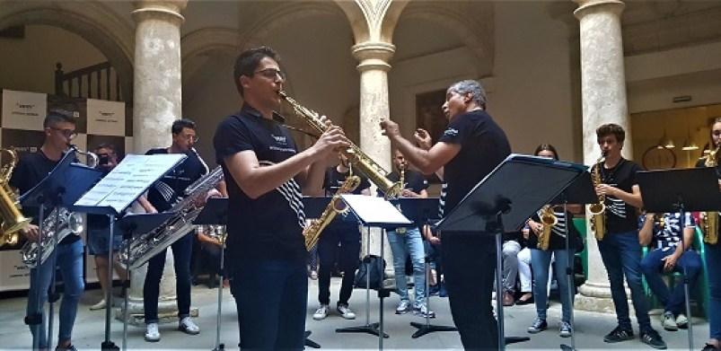 Esemble de Saxofones del Conservatorio de Villena