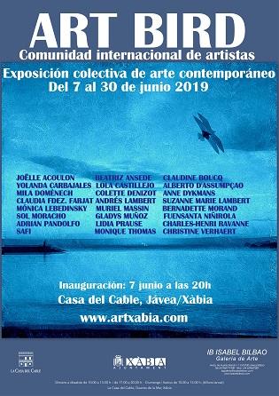 Exposició Internacional d'art: ART BIRD a la Casa del Cable de Xàbia
