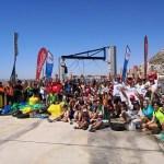 155 voluntarios-as participan en la  limpieza de Cala de la Sangueta de Alicante