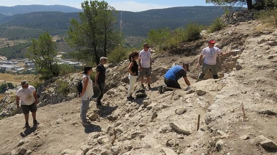 Las excavaciones de El Castellar d'Alcoi sacan a la luz el antiguo Al-QūY