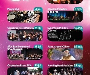 """Jazz, cant d'estil, cantautors i música contemporània protagonitzen """"Música Boqueta Nit"""" al mes d'agost a Altea"""