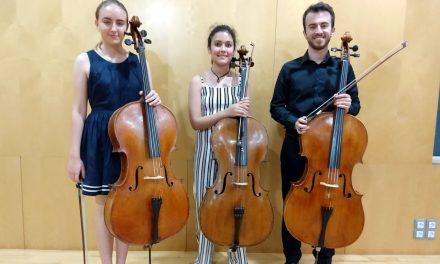 La violonchelista Julia Tripodo Ponce, ganadora del XXI Concurso de Música de Benidorm