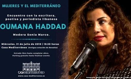 Debate sobre la mujer árabe con Joumana Haddad en Casa Mediterráneo